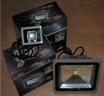LED FLOODLIGHTS - IP65 WEATHERPROOF COLOUR 6500K